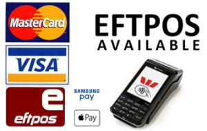 RID Accepts EFTPOS payments