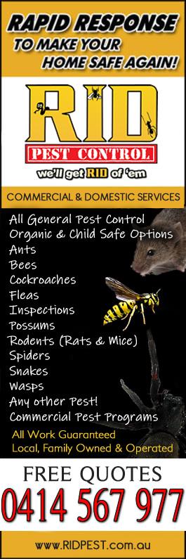 Ballarat Pest Control Service by RID Pest